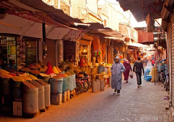In the Sice-souk Marrakech