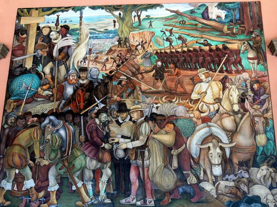 Diego Rivera: freskó