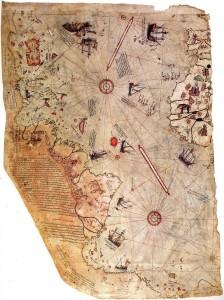 Pîrî Reis World Map