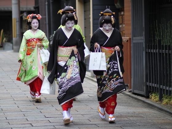 Gion, Kyoto, geisha