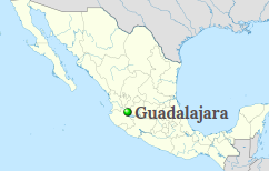 Guadalajara location