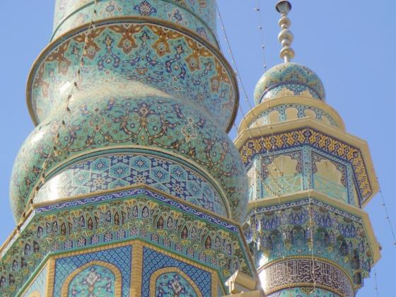 Fatima Masumeh shrine. Qom, Iran
