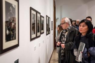 Tarkovszkij-kiállítás megnyitó a Műcsarnokban