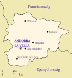 Andorra-map