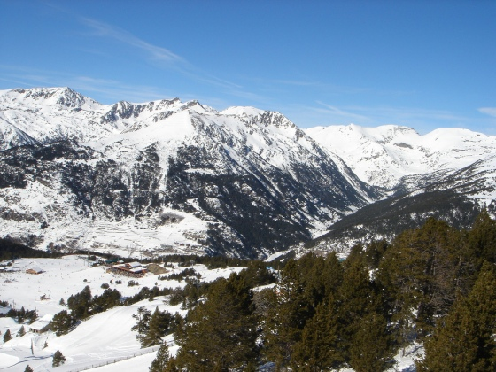 Andorra, winter