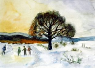 Balázsovits Zsuzsanna: December