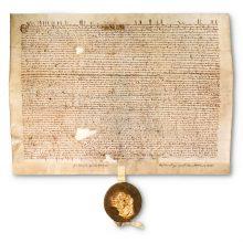 Original Mana Charta document
