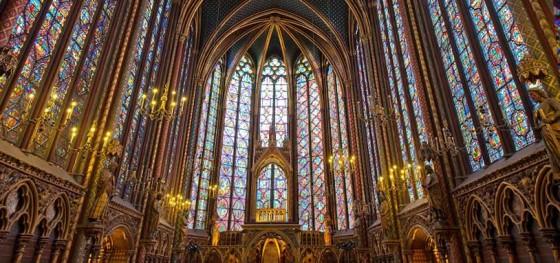 La Sainte Chapelle, Paris, France