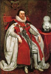 James I. of England by Daniel Mytens