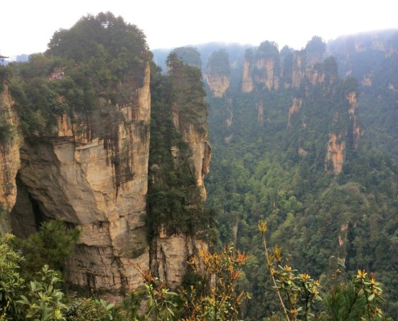 Zhanhjiajie National Forest Park Avatar Mountains