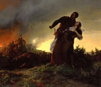 Székely Bertalan: Dobozi Mihály és hitvese 1861