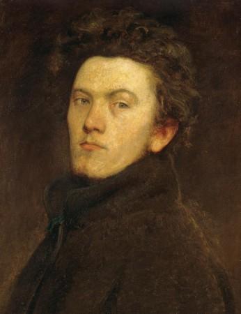 Székely Bertalan: Önarckép. 1860