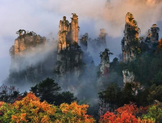 Tianze Mountains