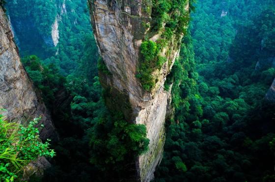 Zhanhjiajie National Forest Park Avatar Mountains