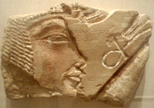 Amarna Relief, Nefertiti