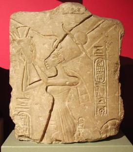 Nefertiti, Limestone relief