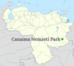 Canaima National Park Localisation