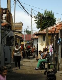 Stolipinovo, utcai lovas