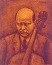 Pablo Casals portréja, Czigány Dezső.