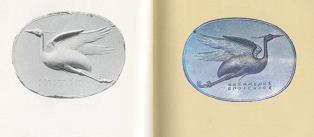 Flying Heron,