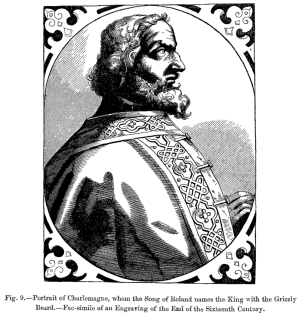 Portrait of Charlemagne