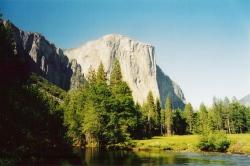 El Capitan in the Yosemite N.P.