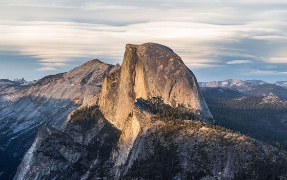 Half Dome in the Yosemita N.P.