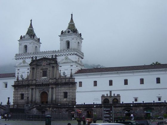 San Francisco church, Quito, Ecuador