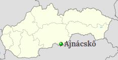 Pozíció Szlovákia térképén