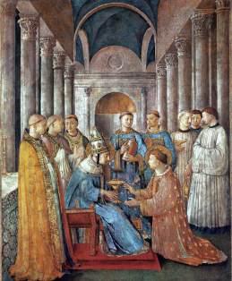 Fra Angelico fresco