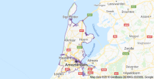 north-holland map