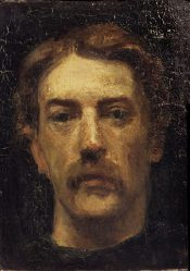 Ferenczy Károly: Self portrait 1906