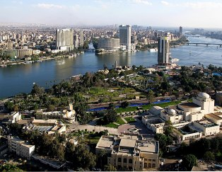 Nile at Cairo, Egypt