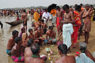 Festival of sacred bath, bangladesh