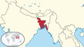 Bangladesh in Map