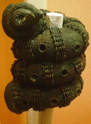 Igbo-Ukwu Bronze ornamental staff