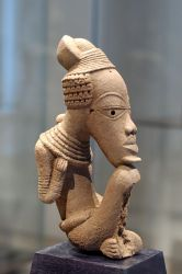 terracotta, Nok sculpture, Louvre