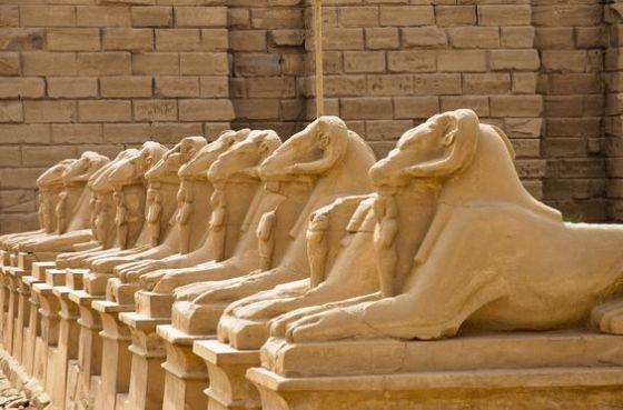 Amo temple Karnak, Egypt