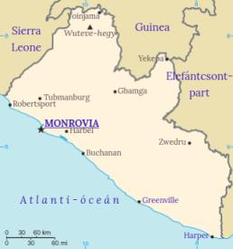 Liberia position