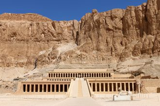 Mortuary Temple of Hatshepsut in Egypt
