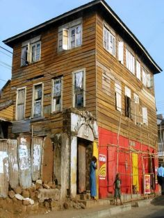 old creole house in Sierra Leone