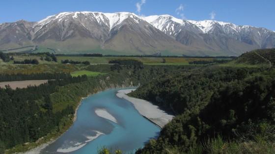 Rakaia River, NZ