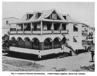 Americo-Liberian architecture, Monrovia, Liberia