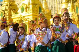 Shinbyu ceremony, Myanmar