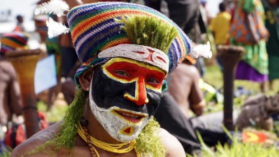 Sing sing festival Mount Hagen, Papua New Guinea
