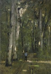 Paál László: Út a fontainebleau-i erdőben