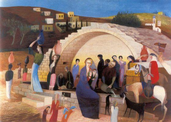 Csontváry Kosztka Tivadar: Mária kútja Názáretben