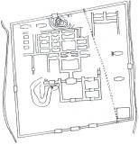 Gjangbok-kung Palace layout
