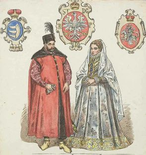 Istvan Bathory and Anna Jagello