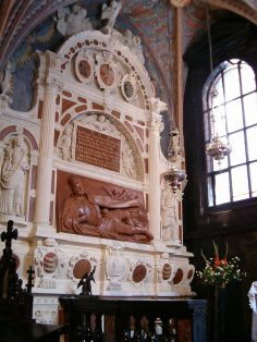 The tomb of Báthory in Wawel